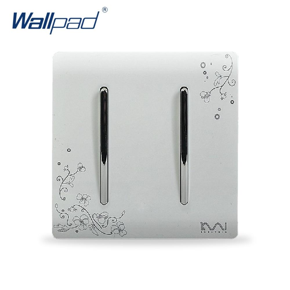 Aliexpress.com : Buy 2 Gang 1 Way Switch Hot Sale Wholesaler Wallpad ...