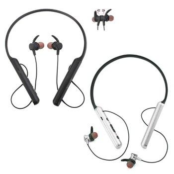 2019 OOTDTY Neckband Wireless Bluetooth V4.2 Earphones Stereo Handsfree Headset Magnetic Sport Headphones
