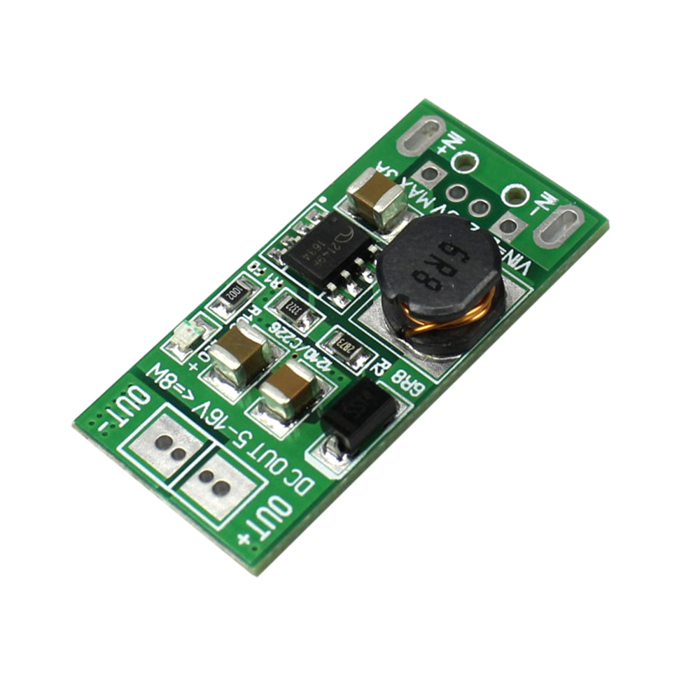 8W USB Input DC-DC 5V to 12V Converter Step Up Module Power Supply Boost Module 8W USB Input DC-DC 5V to 12V Converter Step Up Module Power Supply Boost Module