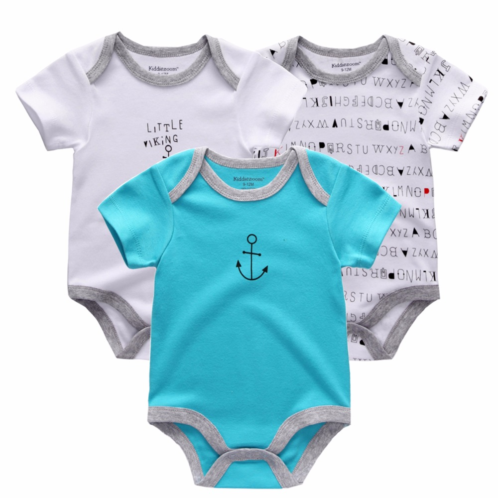 New-2017-Brand-Baby-Bodysuits-Spring-summer-Babies-Newborn-Cotton-Body-Baby-short-Sleeve-Next-Infant-Bebe-Boy-Girl-Clothes-set-1