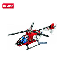 150pcs Kaygoo 3336 TECHNIC Whirl Ybird DIY Rescue Helicopter Model Building Blocks Construction Bricks baby toys(China)