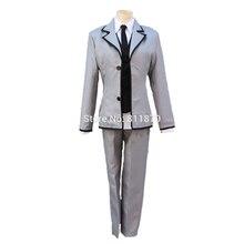 Assassination Classroom Cosplay Isogai Yuuma School Uniforms Suits Unisex Anime Costumes Coat Pants Vest Shirt Tie