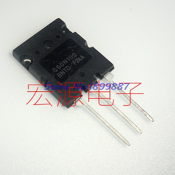 1pcs/lot G60N100BNTD TO-3P G60N100 TO-247 FGL60N100 <font><b>60N100</b></font> In Stock image
