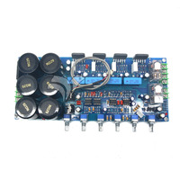 LM3886 לוח מגבר חום 2.1 סאב HIFI w/מעגל הגנה ברמת חום DIY
