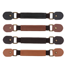 1x Leather Furniture Handle Door Pull Handbag Purse Bag Strap Suitcase Replacement Luggage Pulls