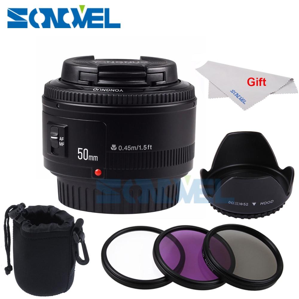 YONGNUO YN50mm f1.8 AF Lens YN50 Aperture Auto Focus Camera Lens for Canon EOS 800D 760D 750D 80D 77D 7D 6D 5Ds DSLR CameraYONGNUO YN50mm f1.8 AF Lens YN50 Aperture Auto Focus Camera Lens for Canon EOS 800D 760D 750D 80D 77D 7D 6D 5Ds DSLR Camera