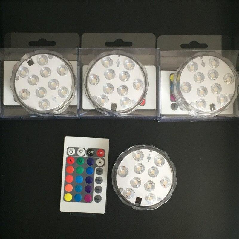 1 Adet / grup Uzaktan Kumandalı LED Dalgıç Mum Işığı Vazo - Tatiller ve Partiler Için - Fotoğraf 5