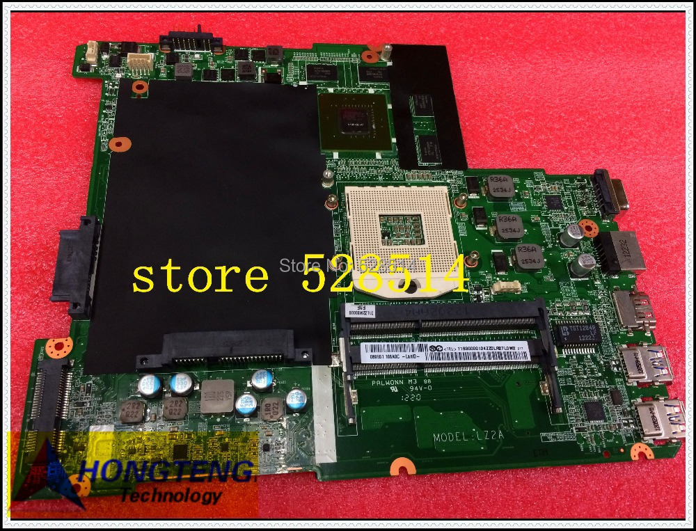 LAPTOP MIAN BOARD For lenovo Z480 motherboard non-integrated LZ2A DALZ2AMB8F0 100% tested OK