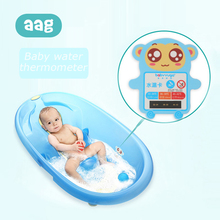 AAG Cute Baby Shower Water Thermometer Cartoon Child Bathing Tub Water Sensor Thermometers Kids Water Thermometer Card Tester 10 baby s cute tiger style bathtub bathing water thermometer orange yellow black