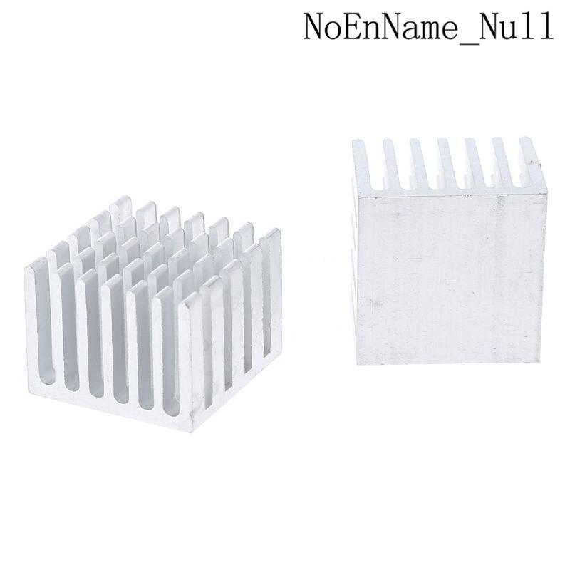 5pcs/set 20x20x15mm Cooling Heatsink Cpu Gpu Ic Chip Aluminum Heat Sink Radiator