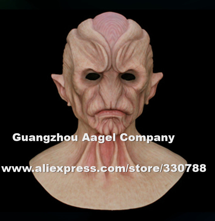 alien 1 top quality silicone halloween mask full head alien mask horror mask - Alien Halloween Masks