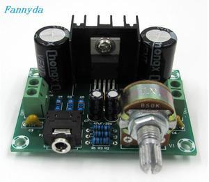 Image 2 - XH M551 モノラルチャンネルアンプボード、 TDA2030A オーディオアンプボード、 18 ワットアンプボード DC/AC12V