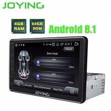 8 «TDA7851 одного Din 4 Гб и 64 Гб Octa Core Android 8,1 универсальный автомобильный Радио Стерео Штатная gps навигации плеер встроенный DSP