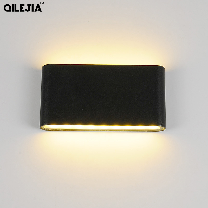 LED Wall Light Waterproof Outdoor Wall Lamp IP65 Aluminum 6W/12W LED Wall Light Indoor Decorated Wall Sconce