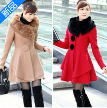 font b women b font winter coat new fall and winter clothes big skirt rabbit