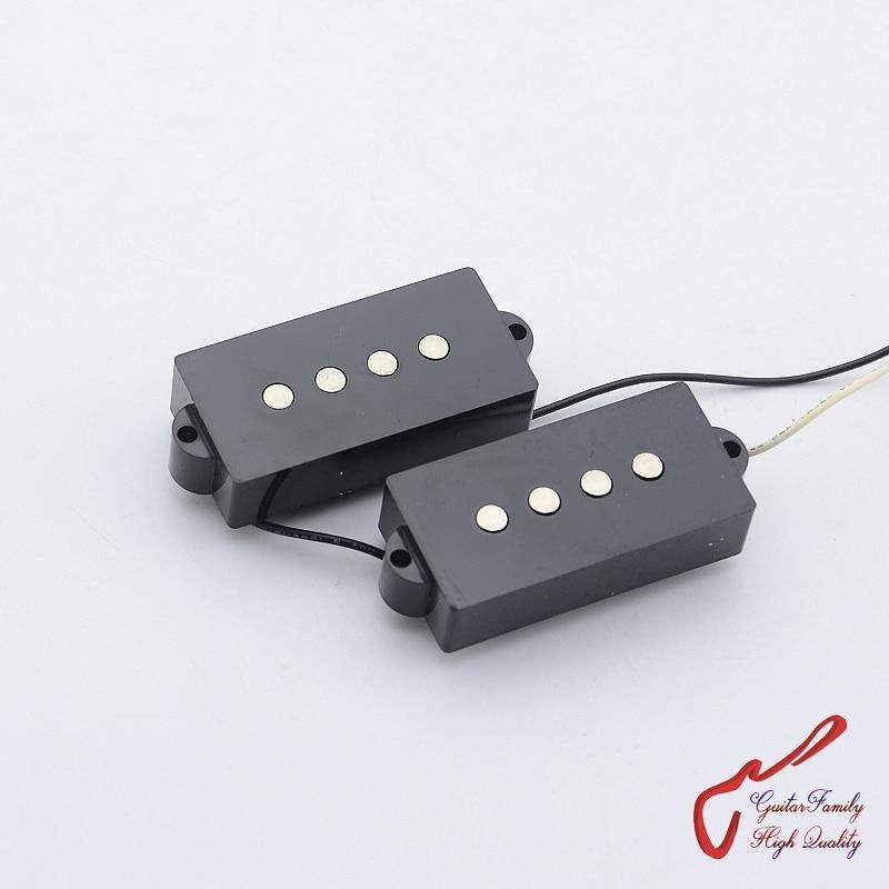 Clearance Sale 1 Set GuitarFamily Ceramic 4 Strings Precision Bass P-Bass Pickup ( #0662 ) Made In Korea
