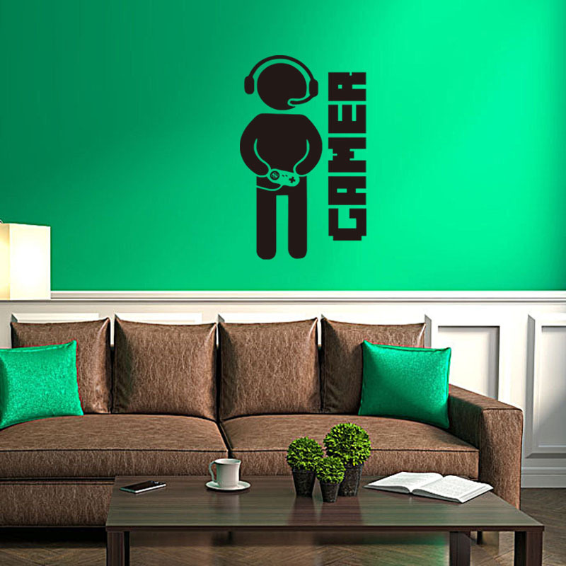 Brand 2017 Video Game Gaming Gamer Wall Sticker Decal Art Home Decorators Catalog Best Ideas of Home Decor and Design [homedecoratorscatalog.us]