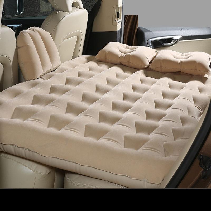 車後部座席ソファ日産エクステラのためのインフレータブルマットレスエクストレイル t30 t31 t32 xtrail 2015 2016 2017 2018 -