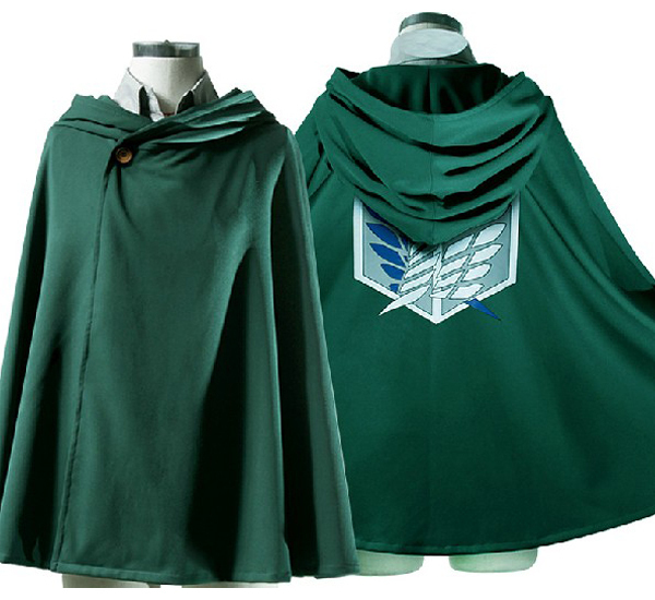 Japan animation anime Shingeki no Kyojin Attack on Titan cosplay costume props aren liberty wings cloak cos cape