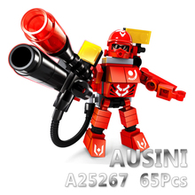 A Models Building toy Compatible with Lego A25267 65pcs Space Hero Blocks Toys Hobbies For Boys