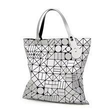 Europäischen Stil Frauen Tasche tote Große Geometrische Bao Bao Issey Miyak Bag Luxury Brand Designer Hohe Qualität BaoBao Handtasche Taschen 856