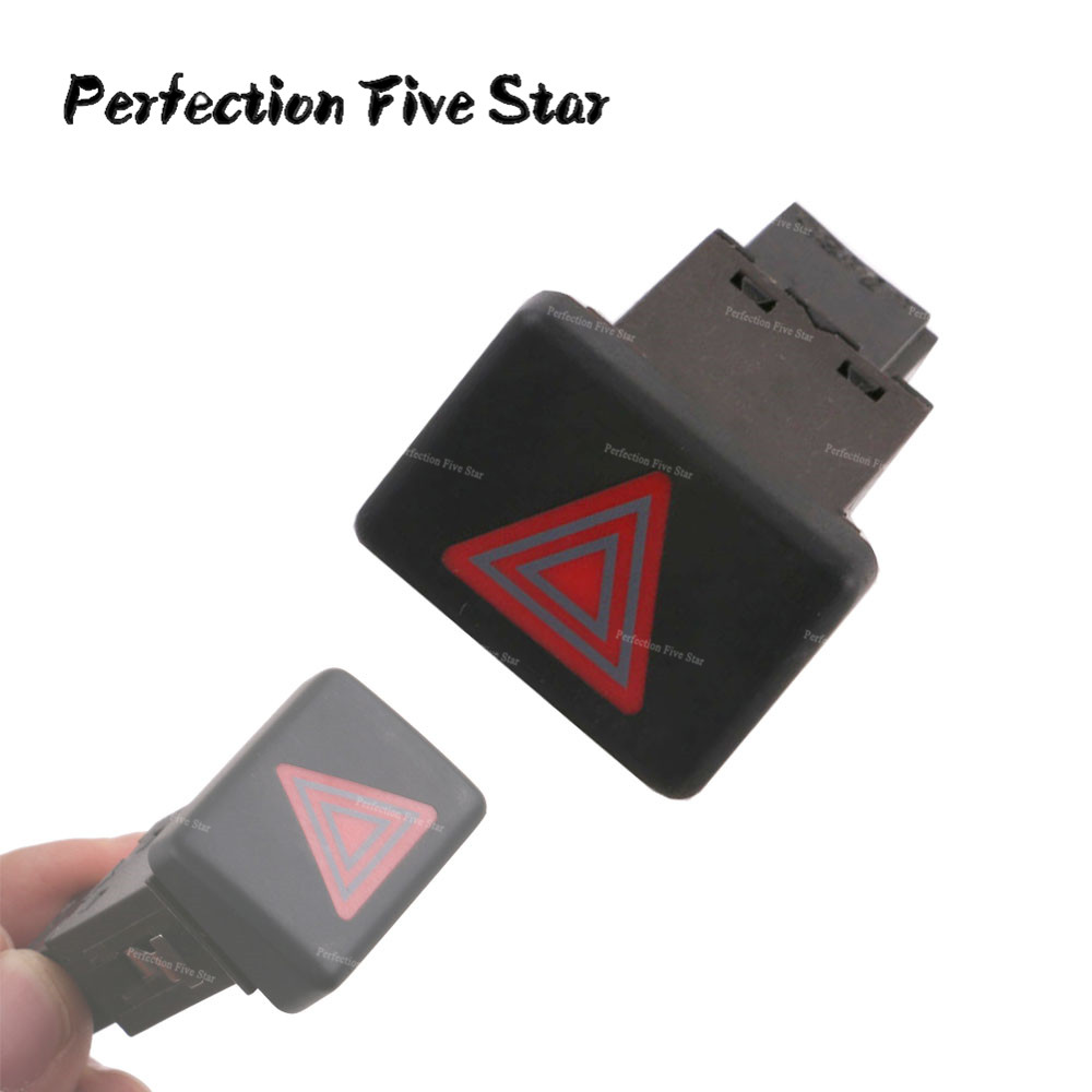 8ED941509 5PR Hazard Warning Emergency Red Light Lamp Switch Button For Audi A4 S4 B6 B7 2004 2005 2006 2007 2008 RS4 8E0941509