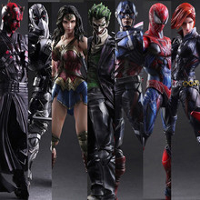 """Play Arts Marvel, Мстители, Дэдпул, Человек-паук, Бэтмен, Черная пантера, экшн-фигурка, коллекция PA, модель, аниме, куклы, игрушки 10"""""""