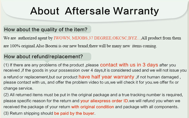 5 about aftersale warranty