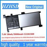 7.6V 38wh/5000mah C21N1509 new Original Laptop Battery For ASUS Notebook X556UA X556UB X556UF X556UJ X556UQ X556UR X556UV