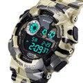 Мужская мода Аналоговые Кварцевые Цифровые Часы Мужчины G Стиль Водонепроницаемые Военные Часы Reloj hombre 2017 Горячий Продавать