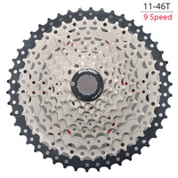 BOLANY 9 27S 11 46T Single Speed MTB Bicycle Mountain Wide Ratio Bicycle Cassette Parts Sprockets