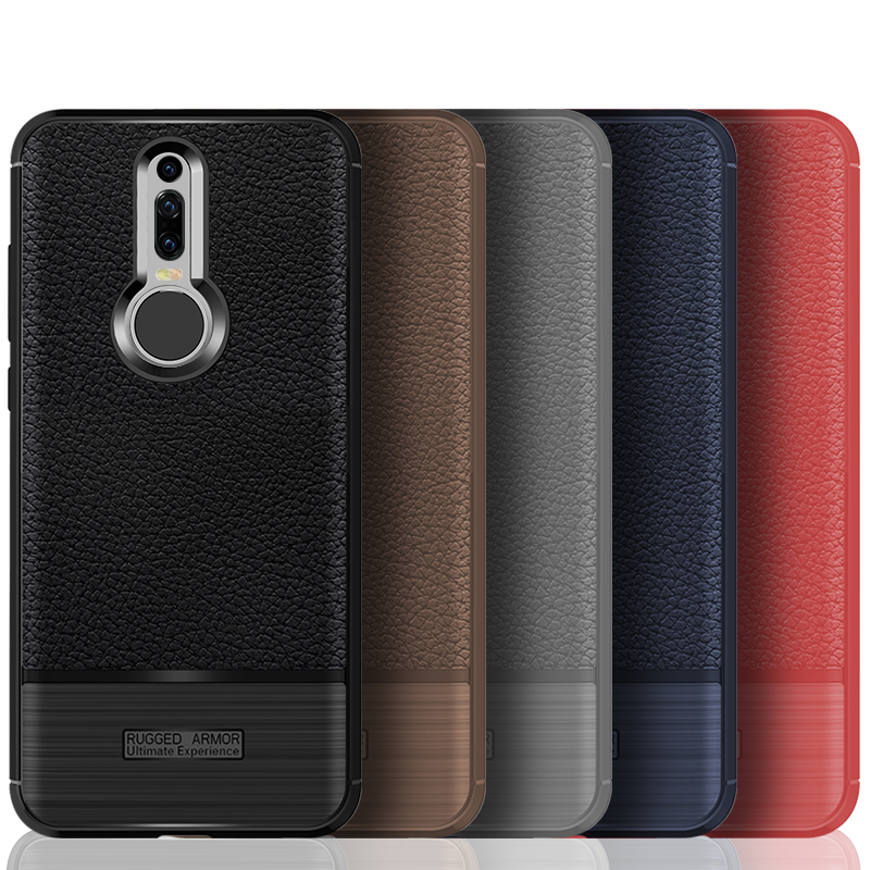 AXBETY coque For huawei Mate RS case luxury Matte Litchi Texture Ultra Slim Silicon Protection Case For huawei Mate rs  Cover