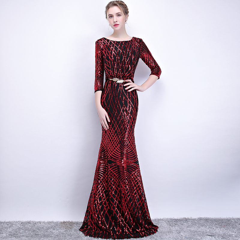AIJINGYU Plus Size Evening Dress Party Sexy Gown 2018 Women Elegant Formal  Special Occasion Dresses Fashion Ball Gowns FS105-in Evening Dresses from  ... 19c39f2254e4