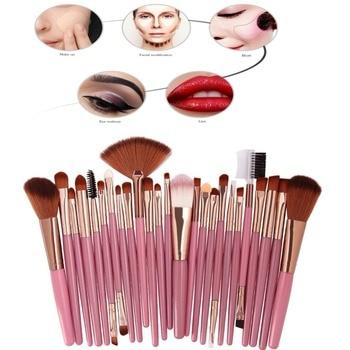 MAANGE 25 Pcs Makeup Brush Kits Face Foundation Power Blush Eyebrow Lips Make Up Brushes Set pincel maquiagem 6