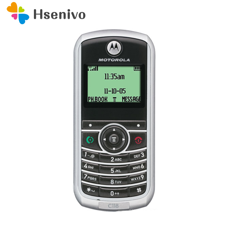 Фото. Motorola C118 разблокирована оригинальный motorola C118 Восстановленный мобильный телефон Восстановл