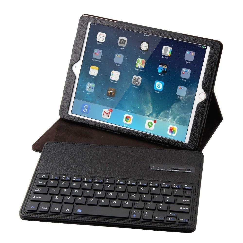 Wireless Bluetooth Keyboard Case for Apple iPad 9.7 Air 1 2 PU Leather Cover Protective Keyboard Case For iPad 9.7 Tablet Case for ipad pro 12 9 keyboard case magnetic detachable wireless bluetooth keyboard cover folio pu leather case for ipad 12 9 cover