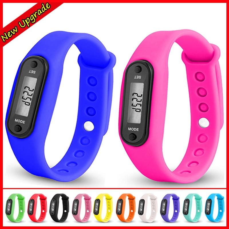 Kids Sport Watch Bracelet Fashion Digital Watch LCD Run Step Walking Distance Calorie Wrist Watch For Women Boys Girls Pedometer