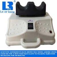 Multi-function aerobic swing machine rocking feet fitness physiotherapy rehabilitation leg foot massager