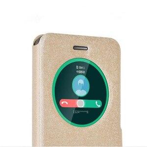 Image 4 - Asus Zenfone 3 ZE520KL Case Op Asus Zenfone 3 4 Deluxe ZE552KL ZS570KL ZE554KL Cover Luxe Flip Window Originele Lederen case