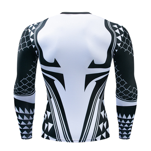 Image 2 - Aquaman Compression Shirt Man 3D Printed T shirts Men 2019 Newest Comics Cosplay Costume Long Sleeve Tops For Male Fitness Cloth