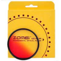 ZOMEI-Filtro graduado para cámara Sony Canon Nikon, Filtro Gradual para cámara de 40,5/49/52/55/58/62/67/72/77/82mm, Azul, Naranja, rojo y gris