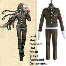 SexeMara Danganronpa V3 Kill Korekiyo Shinguji Unisex Suit Green Uniform Cosplay