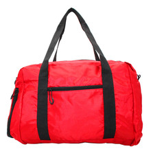FLYONE Men Travel Bags Big Capacity Nylon Ripstop Tote Bags Waterproof Shoulder Travel Duffel Bag with Shoes Compartment