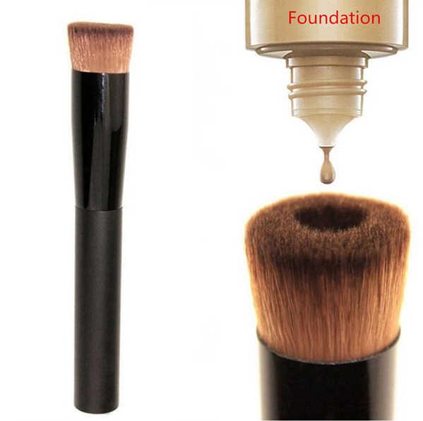 Уникальная Жидкость Основа для макияжа лица Кисточки для Уход за кожей лица Макияж косметический Красота инструмент составляют Расчёски для волос