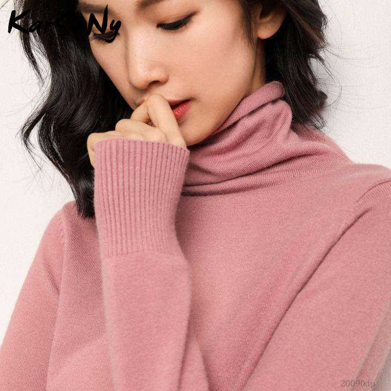 Winter Cashmere Sweater Women Wool Pullover Women's White Cashmere Turtleneck Sweater Pullover Soft Winter For Woman Sweaters