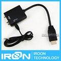 Малина ПЭ3 HDMI к VGA кабель-адаптер. банан П. и. Ран PI 3 HDMI для VGA конвертер. Transfer видео выход HDMI и vga.