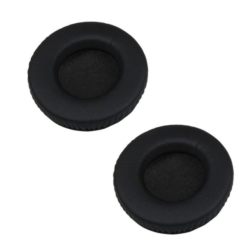 Durable and Soft Replacement Ear Cushion Earpad Black For Razer Kraken / Sennheiser HD205 HD225 Aug29