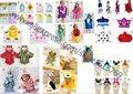 Frete grátis novo 50 cores com capuz Animal modelagem bebê roupão / bebê dos desenhos animados toalha / Character crianças roupão de banho / crianças banho roupão de