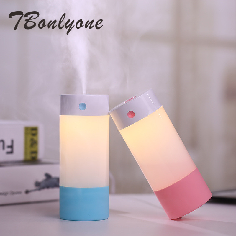 250ML NO.1 Air Humidifier With Fancy Night Light Mute Design Mist Maker With Polymer Mist Technology