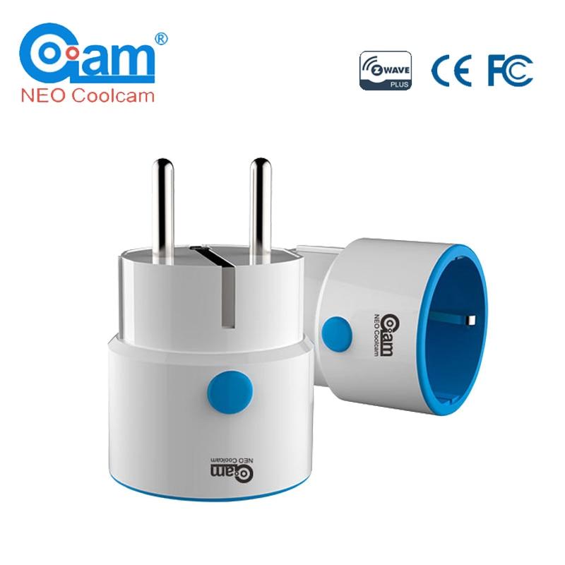 NEO COOLCAM Z-wave Plus MINI Smart Power Plug Home Automation Zwave Socket,Z Wave Range Extender Works With Wink,Smartthings
